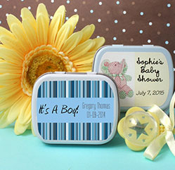 Baby Shower Mint Tins Party Favors