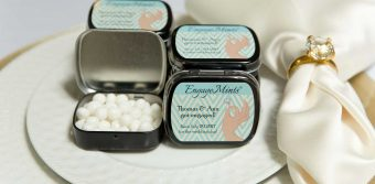 Engagement Party Favor Min Tins