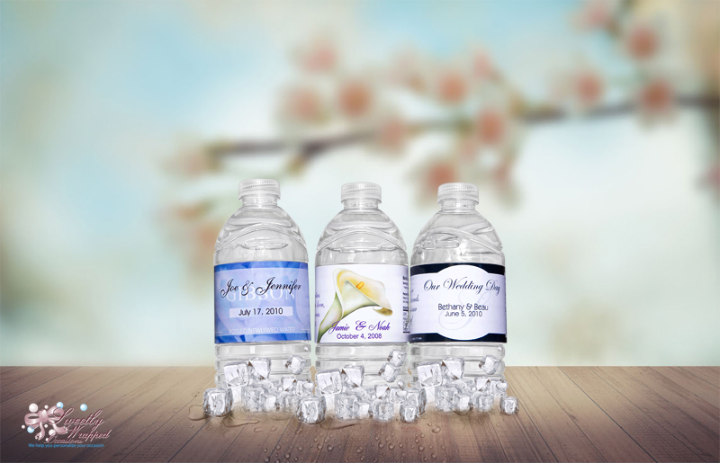 Baby Shower Water Bottle Labels Sweetly Wrapped Occasions