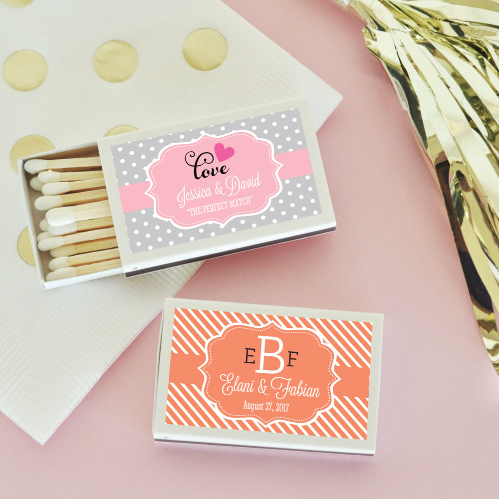 Personalized Theme Match Boxes | Sweetly Wrapped Occasions